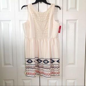 XHILARATION Sleeveless Dress XXL